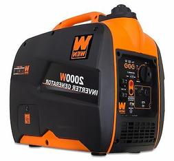 WEN 56200i 79.7cc Gas-Powered Portable Inverter Generator, 2