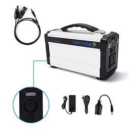 ACOPOWER Portable Generator for Camping 60,000mAh Lithium Io