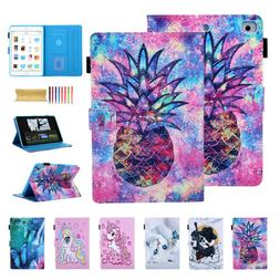 Colorful Pattern Magnetic Smart Stand Shockproof Case Cover