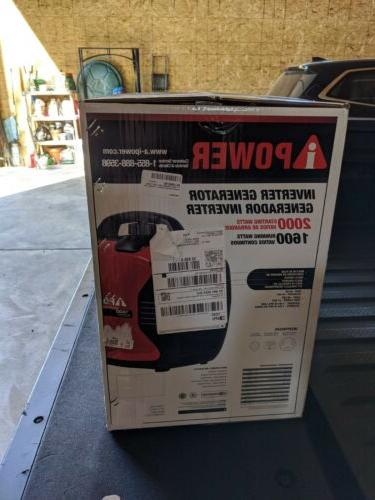 A-iPower 2000 Portable Inverter Quiet Operation **NEW**