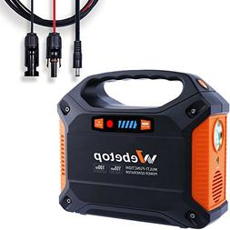 Webetop 155Wh 42000mAh Portable Generator Power Inverter Bat