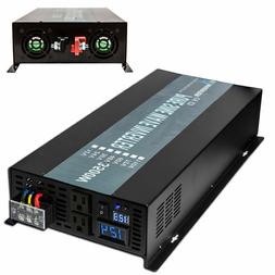 Pure Sine Wave Power Inverter 3500W 12V/24V to 110V/120V/220